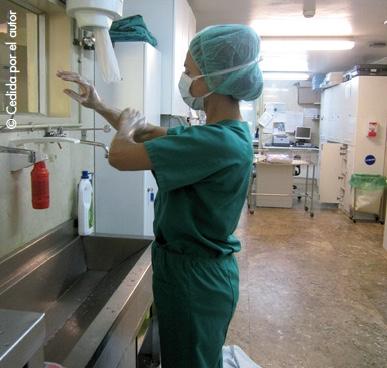 Lavado quirúrgico de las manos