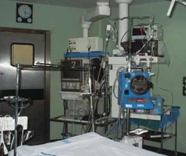 Preparación del quirófano